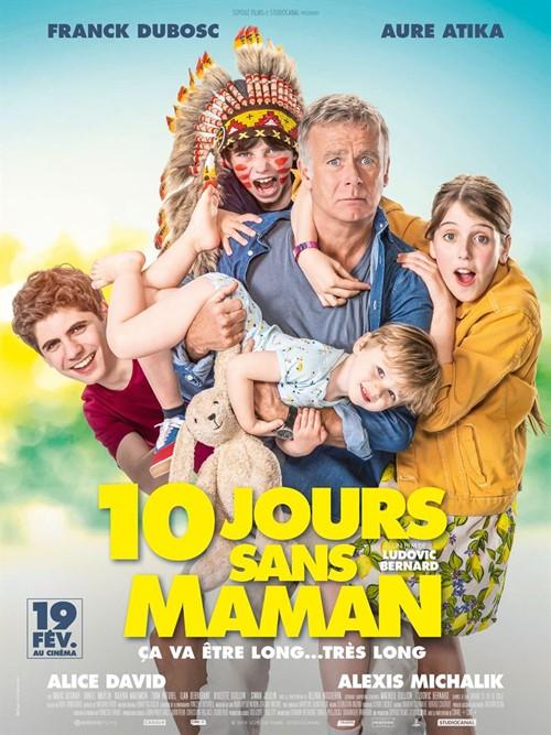 10 jours sans maman film affiche