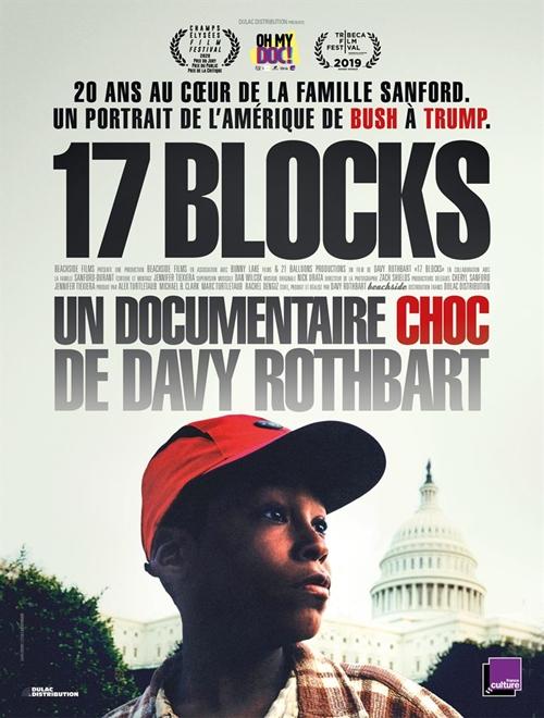 17 Blocks film documentaire affiche définitive