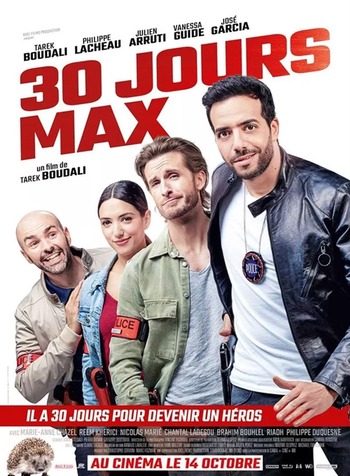 30 Jours Max film affiche