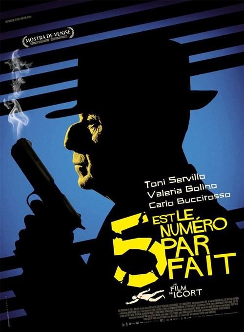 5 est le numéro parfait film affiche