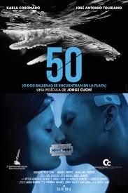 50 (o dos ballenas se encuentran en la playa) film affiche