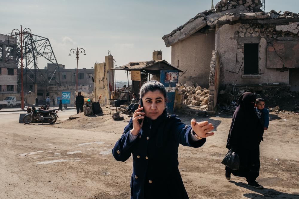 9 Jours à Raqqa film documentaire documentary movie