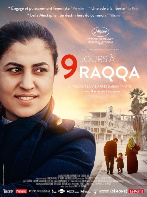 9 Jours à Raqqa film documentaire affiche réalisé par Xavier de Lauzanne