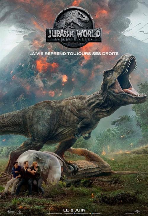 Été en cinémascope 2019 - projection Jurassic World 2 : Fallen Kingdom