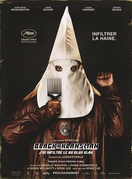 Été en cinémascope 2019 - projection Blackkklansman j'ai infiltré le Ku Klux Klan