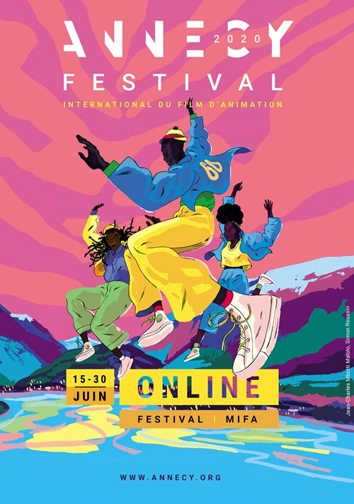 Festival international du film d'animation d'Annecy 2020 affiche