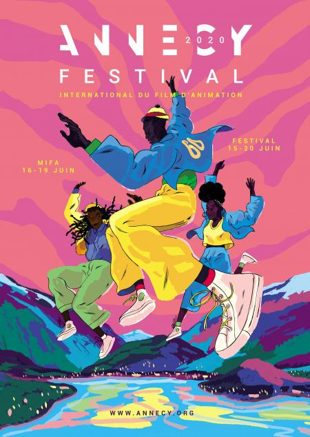 Festival d'Annecy 2020 affiche news