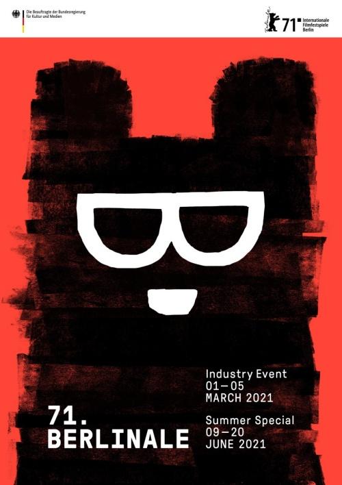Festival de Berlin 2021 affiche