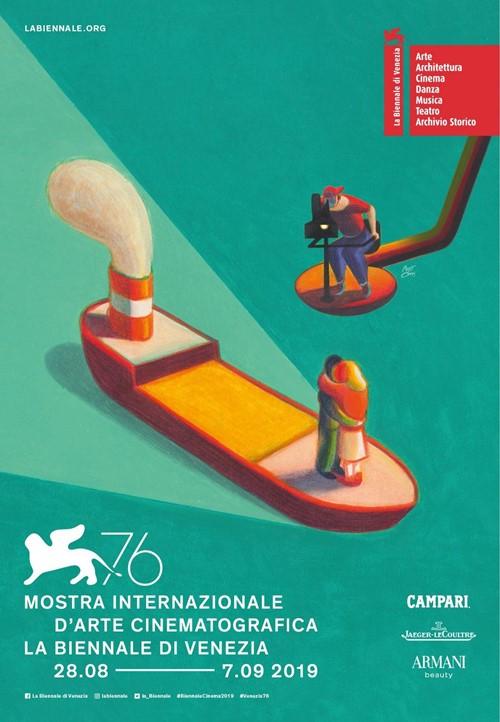 Festival de Venise 2019 affiche