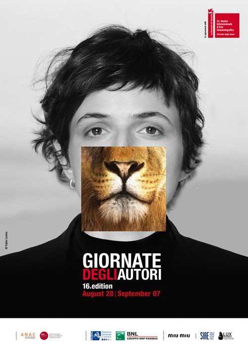 Festival de Venise 2019 Journées des auteurs Giornati degli autori affiche