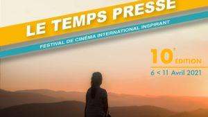 Festival Le Temps presse 2021 film affiche horizontale