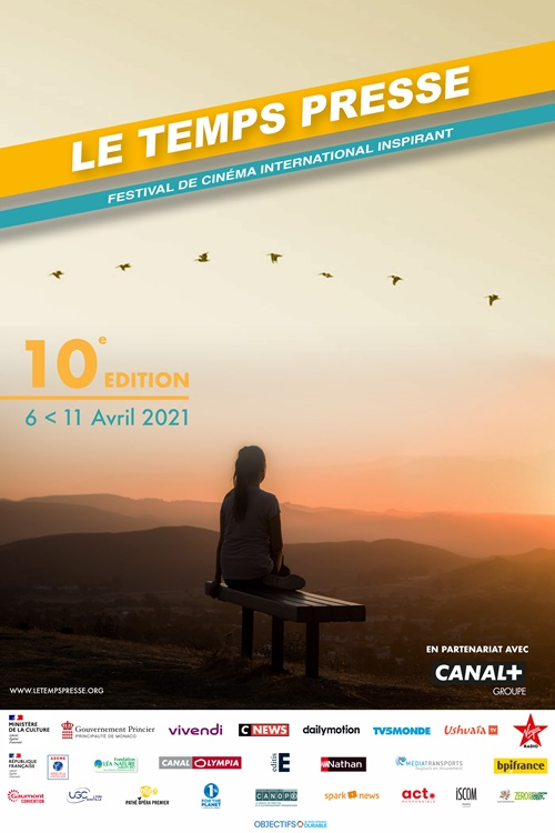 Festival Le Temps presse 2021 film affiche