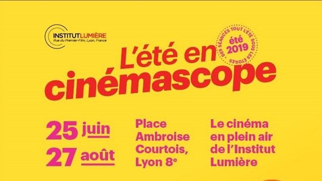 Été en cinémascope 2019 - Place Ambroise Courtois