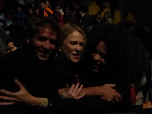 Photo Miss 7 Festival Alpe d'Huez 2020 film en salle (c) Olivier Bachelard - Ruben Alves, Stefi Celma, Pascale Arbillot