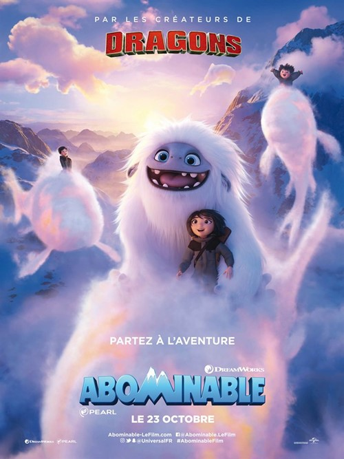 Abominable film animation affiche
