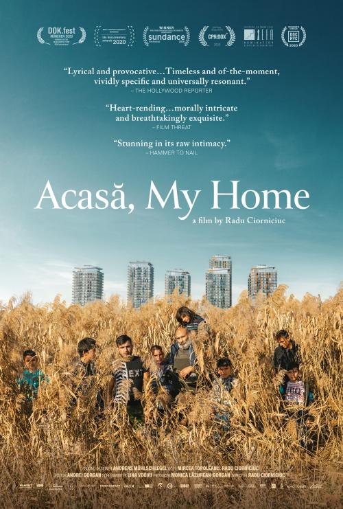 Acasa, my home film documentaire affiche réalisé par Radu Ciorniciuc