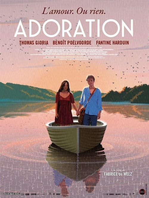 Adoration (2020) Fabrice du welz film affiche