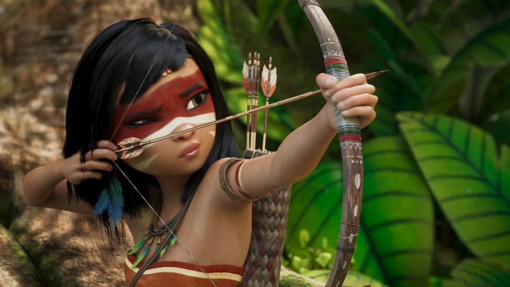 Ainbo, princesse d'Amazonie film animation animated movie