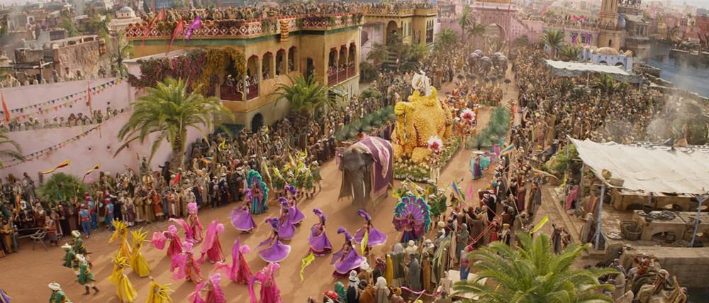 Aladdin 2019 film image