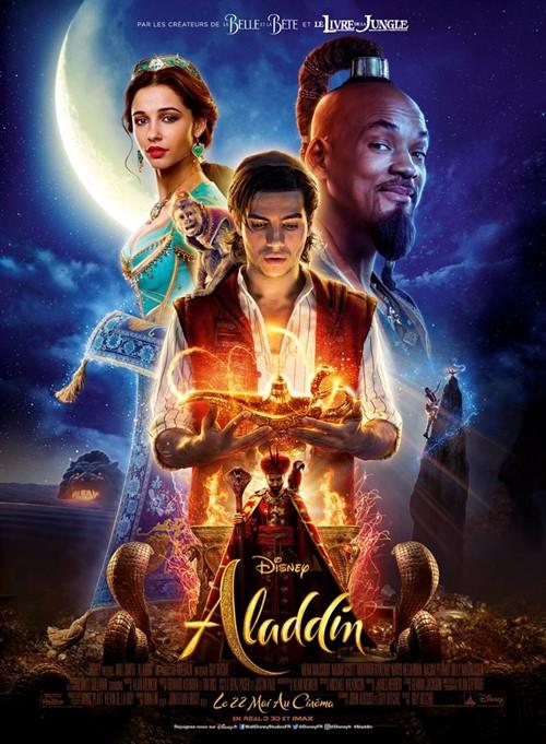 Aladdin 2019 film affiche