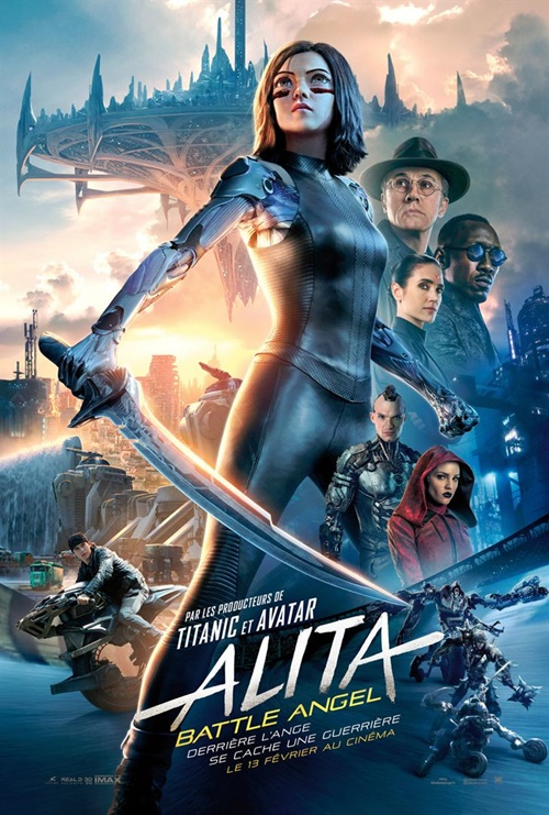 Alita Battle Angel film affiche
