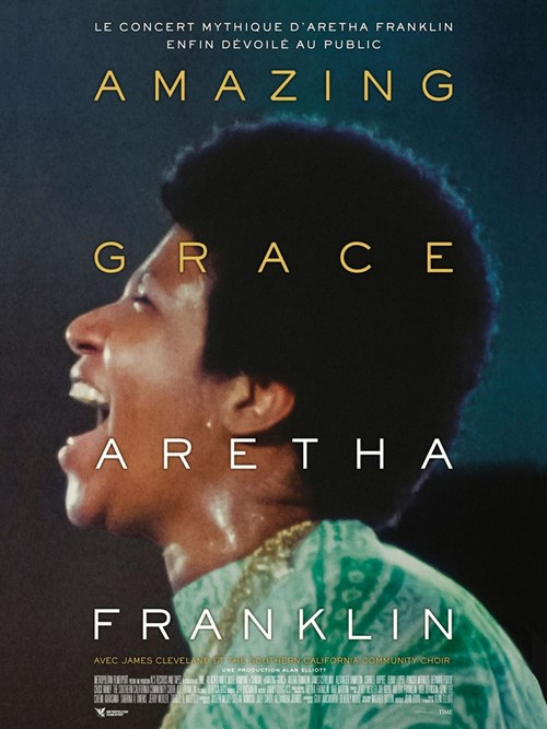 Amazing Grace - Aretha Franklin film documentaire affiche