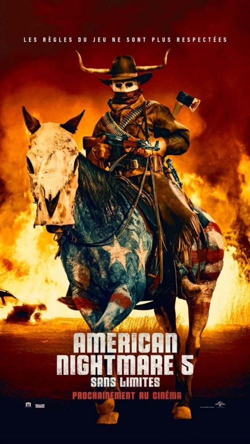 American Nightmare 5 : sans limite film affiche réalisé par Everardo Gout