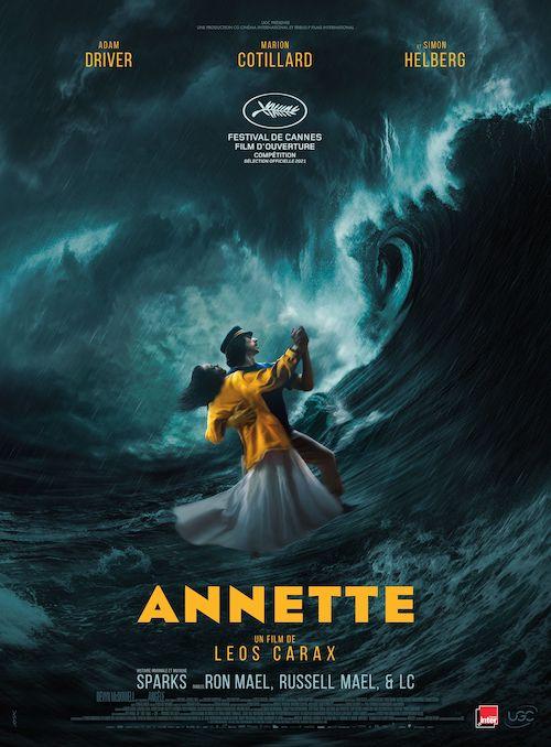 Annette affiche film réalisé par Leos Carax