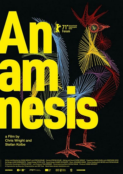 Anamnesis film documentaire affiche réalisé par Chris Wright et Stefan Kolbe