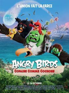 Angry Birds 2 copains comme cochons film animation affiche