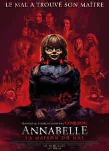 Annabelle 3 : la maison du mal affiche