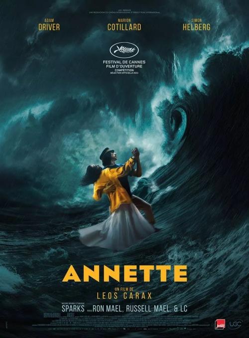 Annette film affiche réalisé par Leos Carax