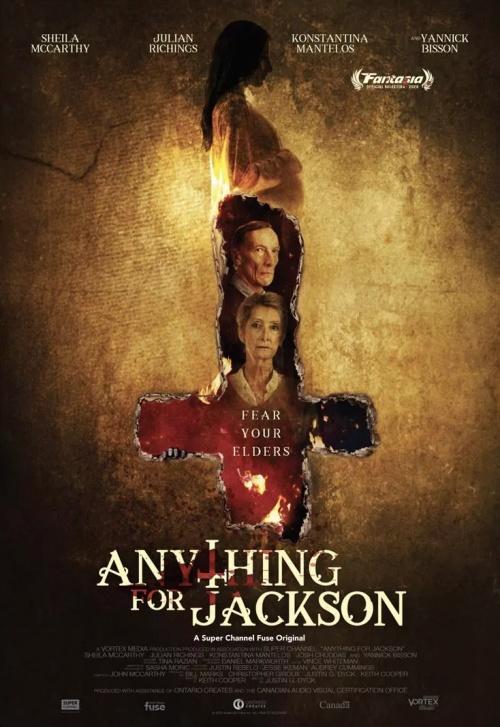 Anything for Jackson film affiche réalisé par Justin G. Dyck