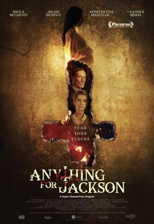 Anything for Jackson film affiche réalisé par Justin Dyck