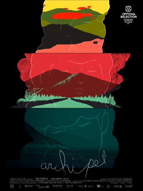 Archipel film documentaire animation affiche réalisé par Félix Dufour-Laperrière