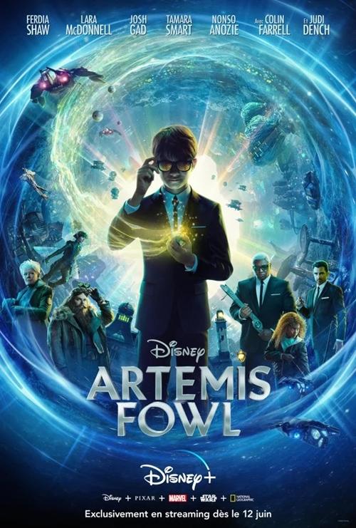Artemis Fowl film affiche