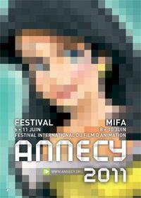Festival international du film d'animation d'Annecy 2011 affiche