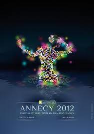 Festival international du film d'animation d'Annecy 2012 affiche