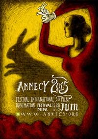 Festival international du film d'animation d'Annecy 2015 affiche