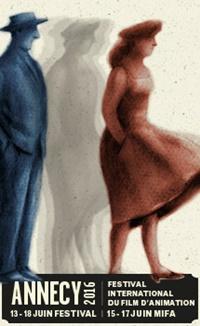 Festival d'international du film d'animation d'Annecy 2016 affiche