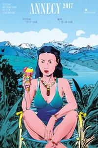 Festival international du film d'animation d'Annecy 2017 affiche