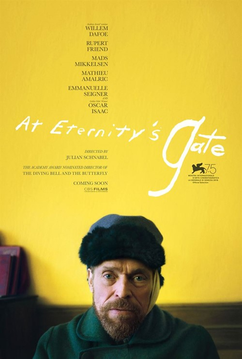 At Eternity's Gate film affiche
