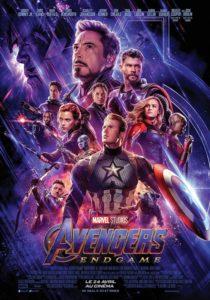 Avengers Endgame film affiche