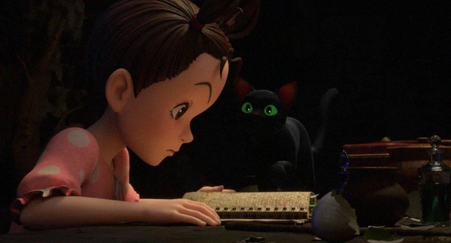 Aya et la sorcière film animation