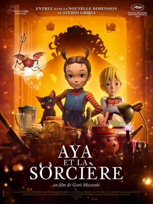 Aya et la sorcière film animation affiche 2 réalisée par Goro Miyazaki