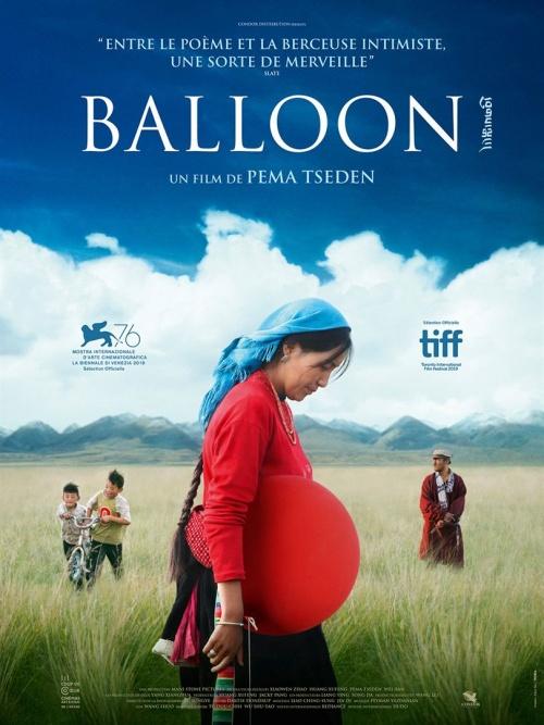 Balloon film affiche réalisé par Pema Tseden