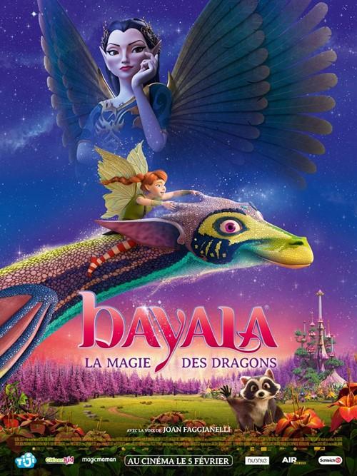 Bayala, la magie des dragons film animation affiche