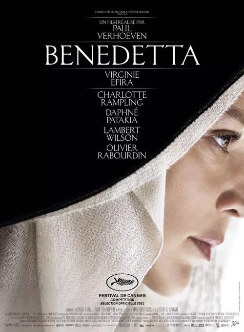 Benedetta film affiche réalisé par Paul Verhoeven