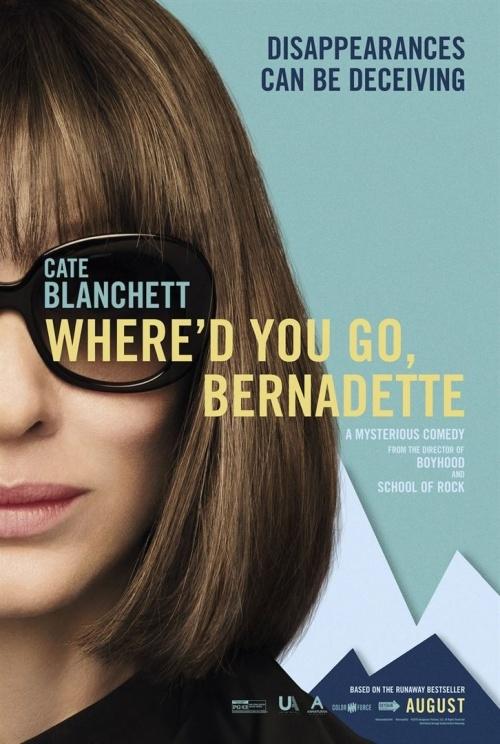 Bernadette a disparu film affiche