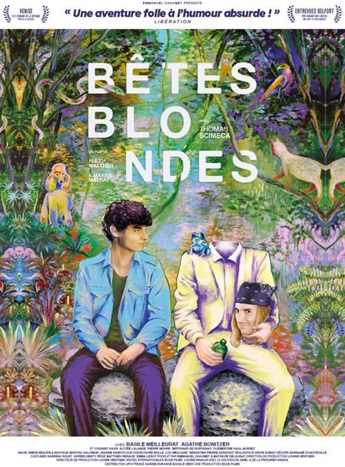 Bêtes blondes film affiche